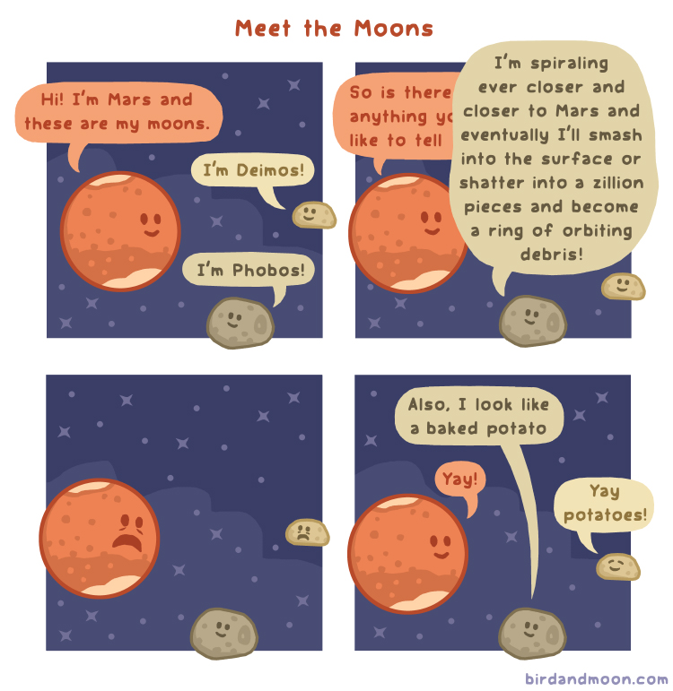 Meet the Moons